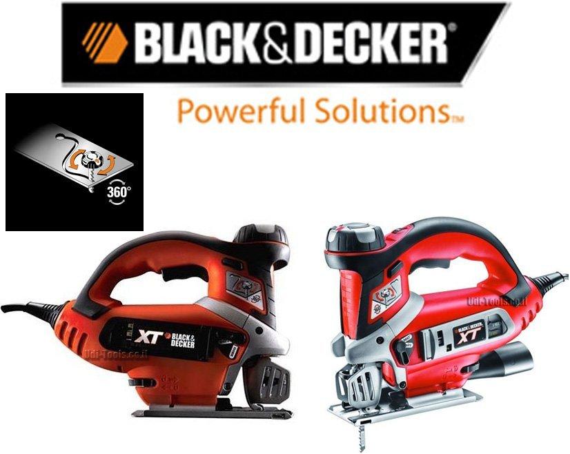 מסור אנכי מיוחד לחיתוך עיגולים וקווים לא ישרים Black & Decker XTS10EK