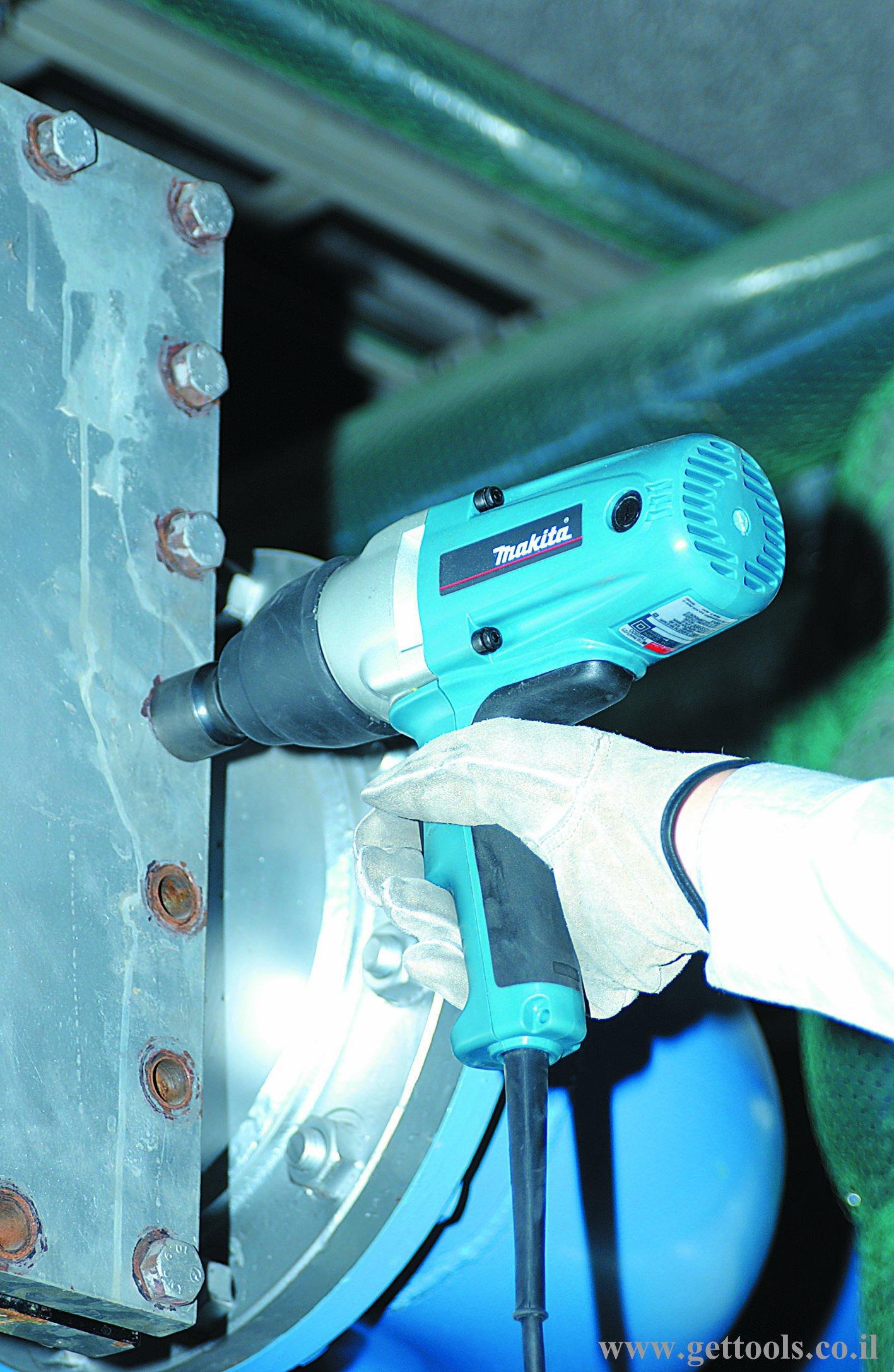 מפתח אימפקט מעולה לעבודות צנרת מורכבות TW0350