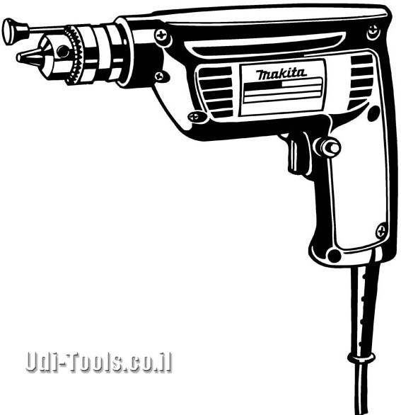 מקדחה חשמלית מהירה 6501 מקיטה