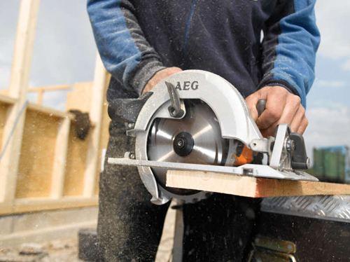 מסור עגול AEG KS 66 C מיועד לעבודות בתנאים קשים