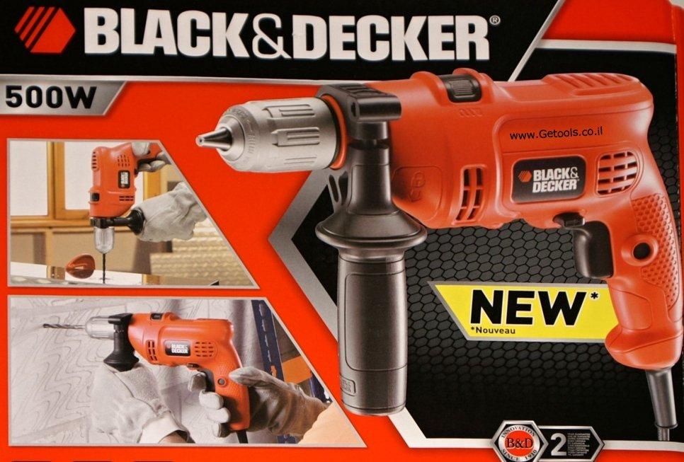 מקדחה B-KR504CRSK50 אידיאלי לתחזוקת הבית וקידוח של עץ, מתכת, פלסטיק ובטון