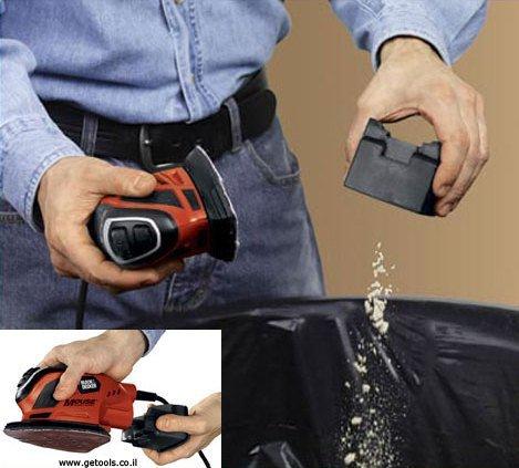 מלטשת עכבר בלק אנד דקר Black and Decker B-KA1000