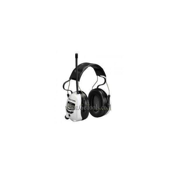אוזניות מגן 3M עם רדיו דגם PELTOR