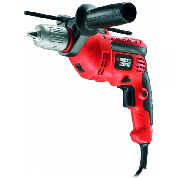 מקדחה רוטטת בלק אנד דקר Black and Decker B-KR604CRES