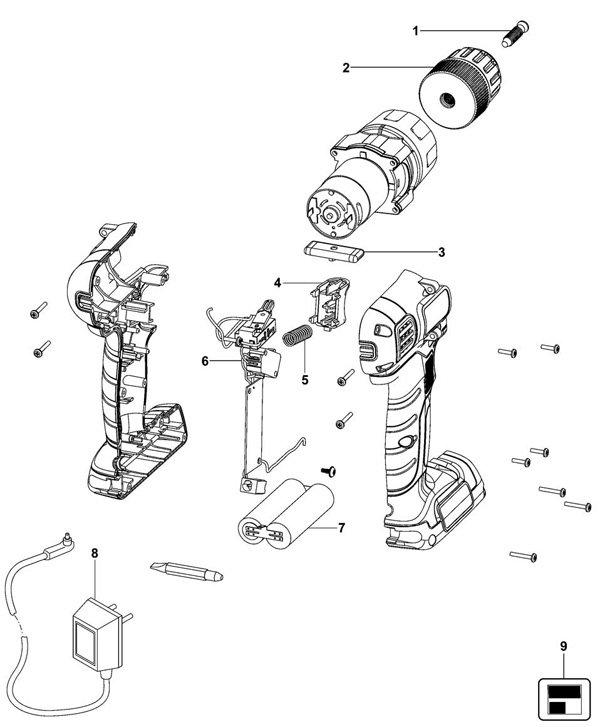 שירטוט טכני של  B-EPL7I
