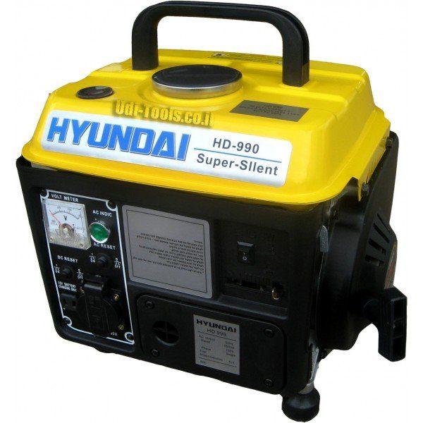 גנרטור בנזין נייד Hyundai HD990
