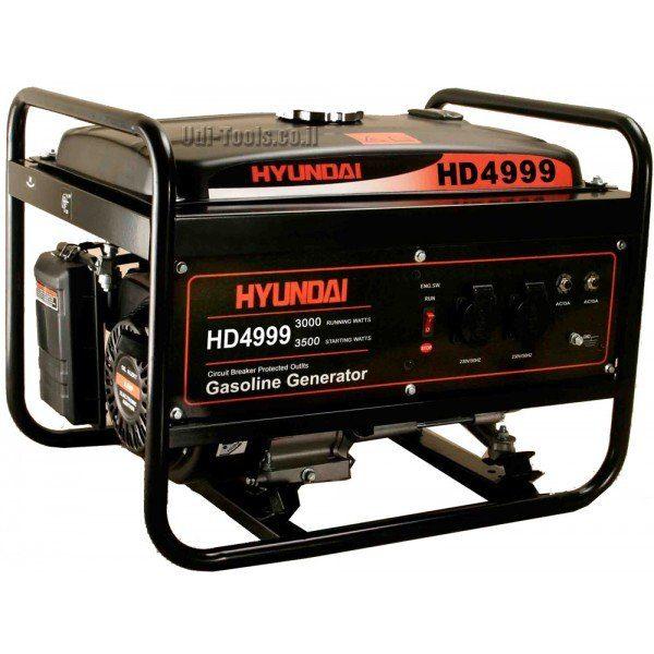 גנרטור בנזין Hyundai HD-4999