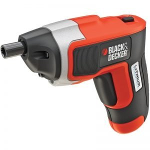 מברגה נטענת בלק אנד דקר Black & Decker B-KC460LN