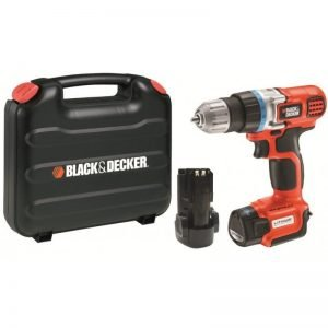 מברגה מקדחה נטענת בלק אנד דקר Black and Decker B-EGBL108K