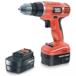 מברגה מקדחה נטענת בלק אנד דקר Black and Decker B-EPC12CA