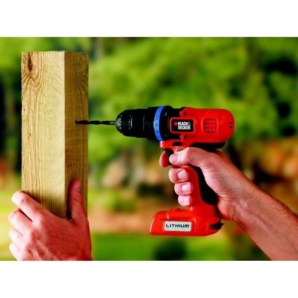 מברגה | מקדחה 7V Black & Decker B-EPL7I