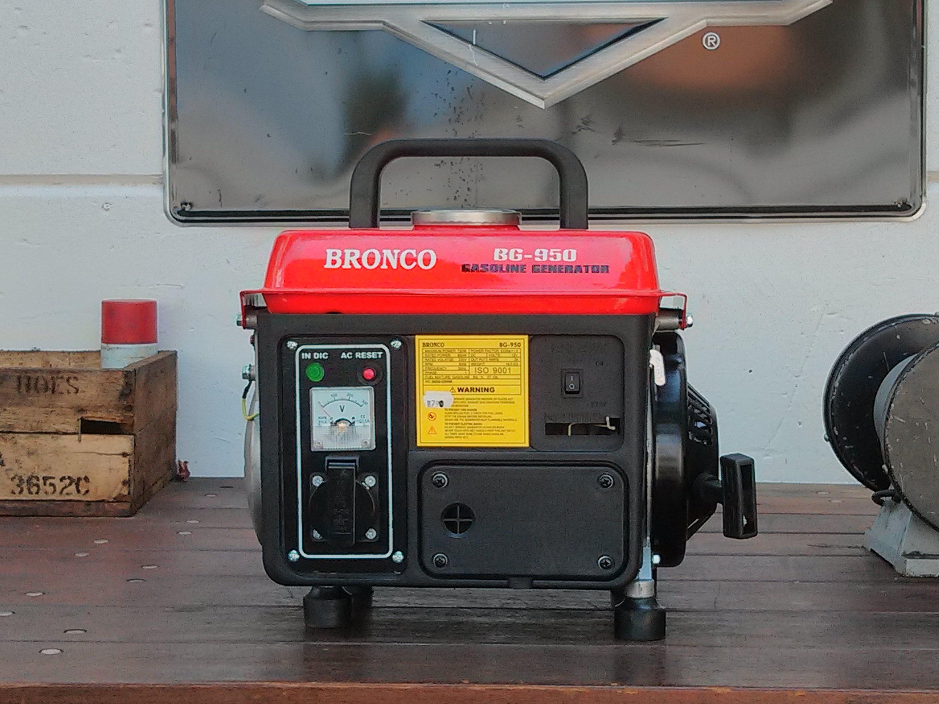 שימוש בנרטור קטן ברונקו BRONCO BG950 MITSUBISHI