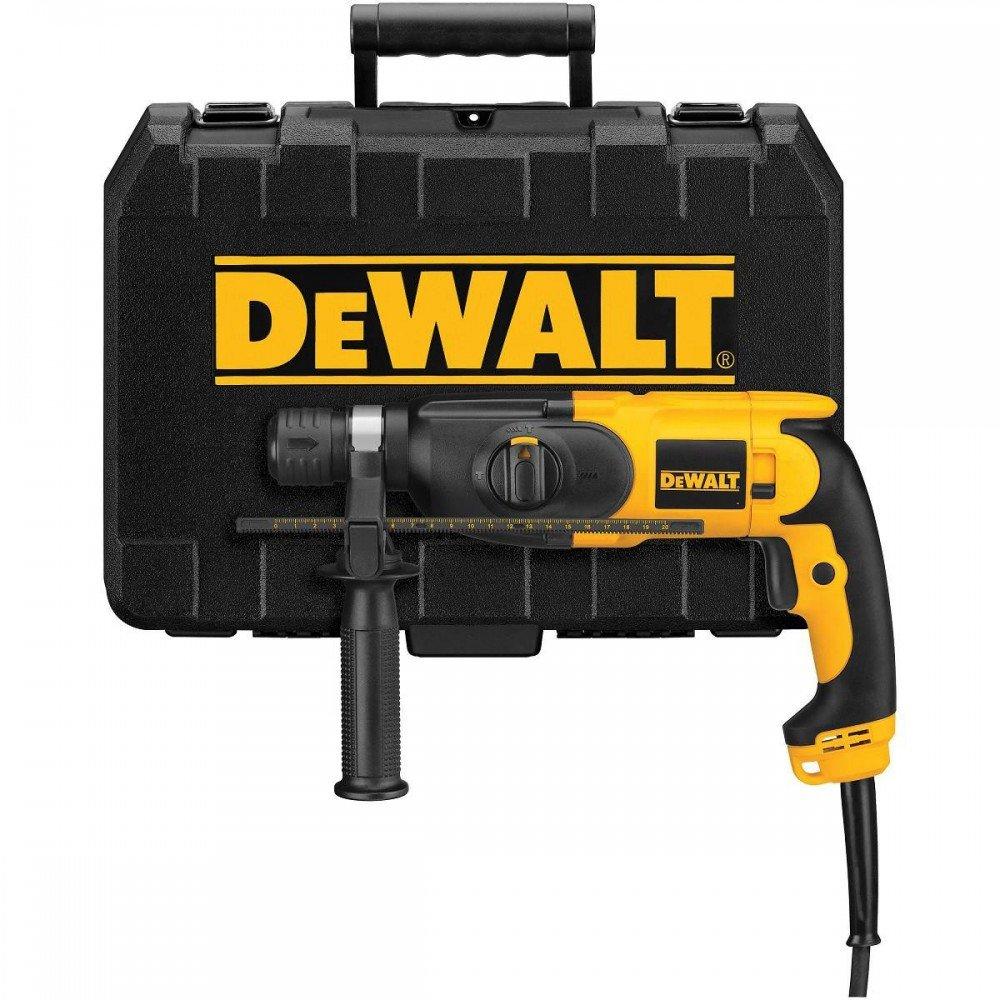 """פטישון / מקדחה - DeWalt מקצועי 650 וואט 22 מ""""מ דגם D25013K"""
