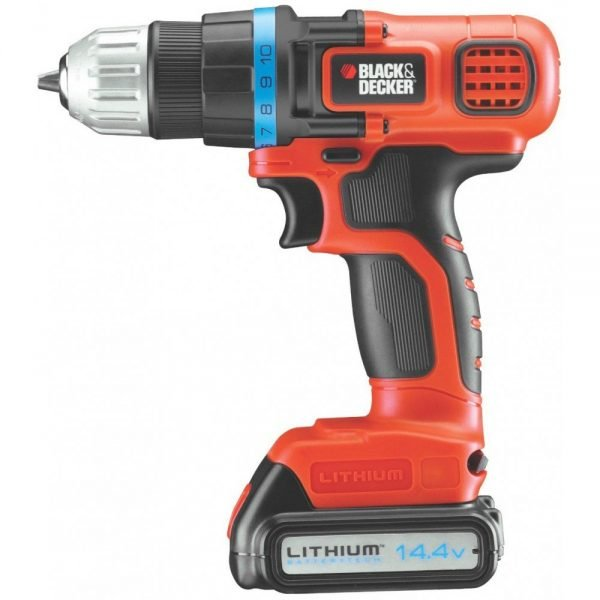 מברגה מקדחה נטענת בלק אנד דקר BLACK AND DECKER B-EGBL14K
