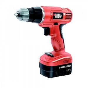 מברגה מקדחה נטענת בלק אנד דקר Black and Decker B-EPC12CAK