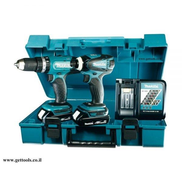 סט כלי עבודה מקצועי Makita DK1863 18V
