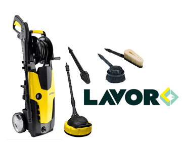 Lavor STM160 עם מוצרים נלווים
