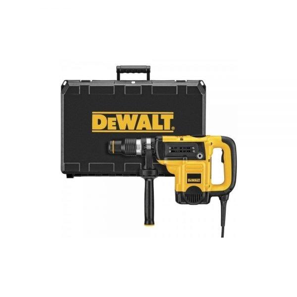 """פטיש חציבה 5.8 ק""""ג עם מזוודה קשיחה DEWALT D25820KIT"""