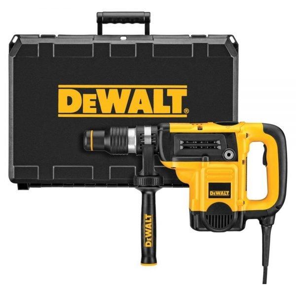"""פטיש חציבה וקידוח 40 מ""""מ עם מזוודה קשיחה DEWALT SDS-MAX D25501K"""