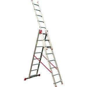סולם אלומיניום רב שימושי ג' מקצועי תקני STAINHEL ST -0337