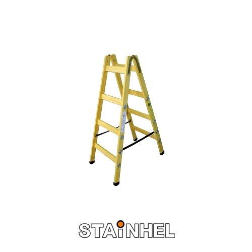 סולם עץ סיידים איכותי תקני STAINHEL ST-4