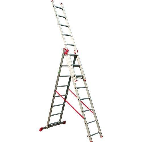 סולם אלומיניום רב שימושי ג' מקצועי תקני STAINHEL ST -0336