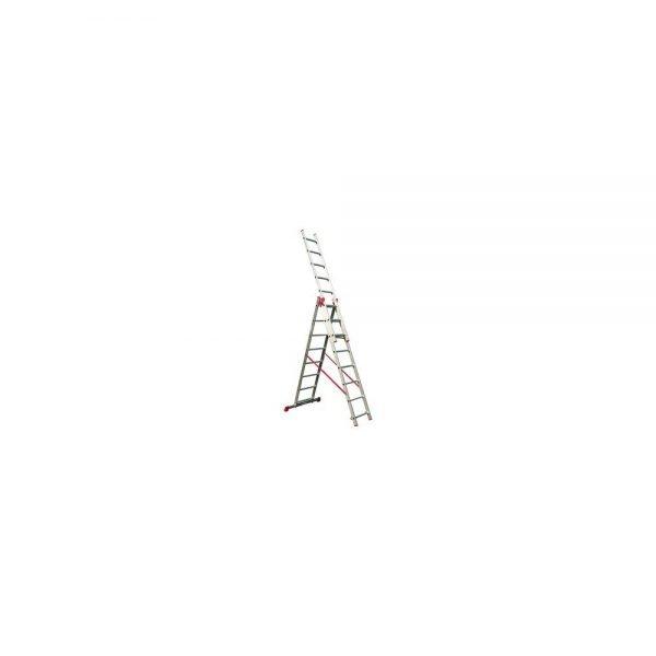 סולם אלומיניום רב שימושי ג' מקצועי תקני STAINHEL ST-0337