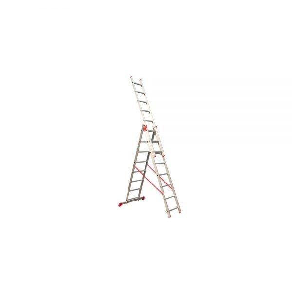 סולם אלומיניום רב שימושי ג' מקצועי תקני STAINHEL ST-0338