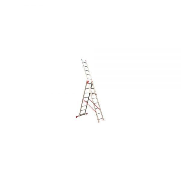 סולם אלומיניום רב שימושי ג' מקצועי תקני STAINHEL ST-0340